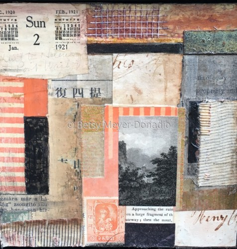Palimpsest Series 2 by Betsy Meyer-Donadio