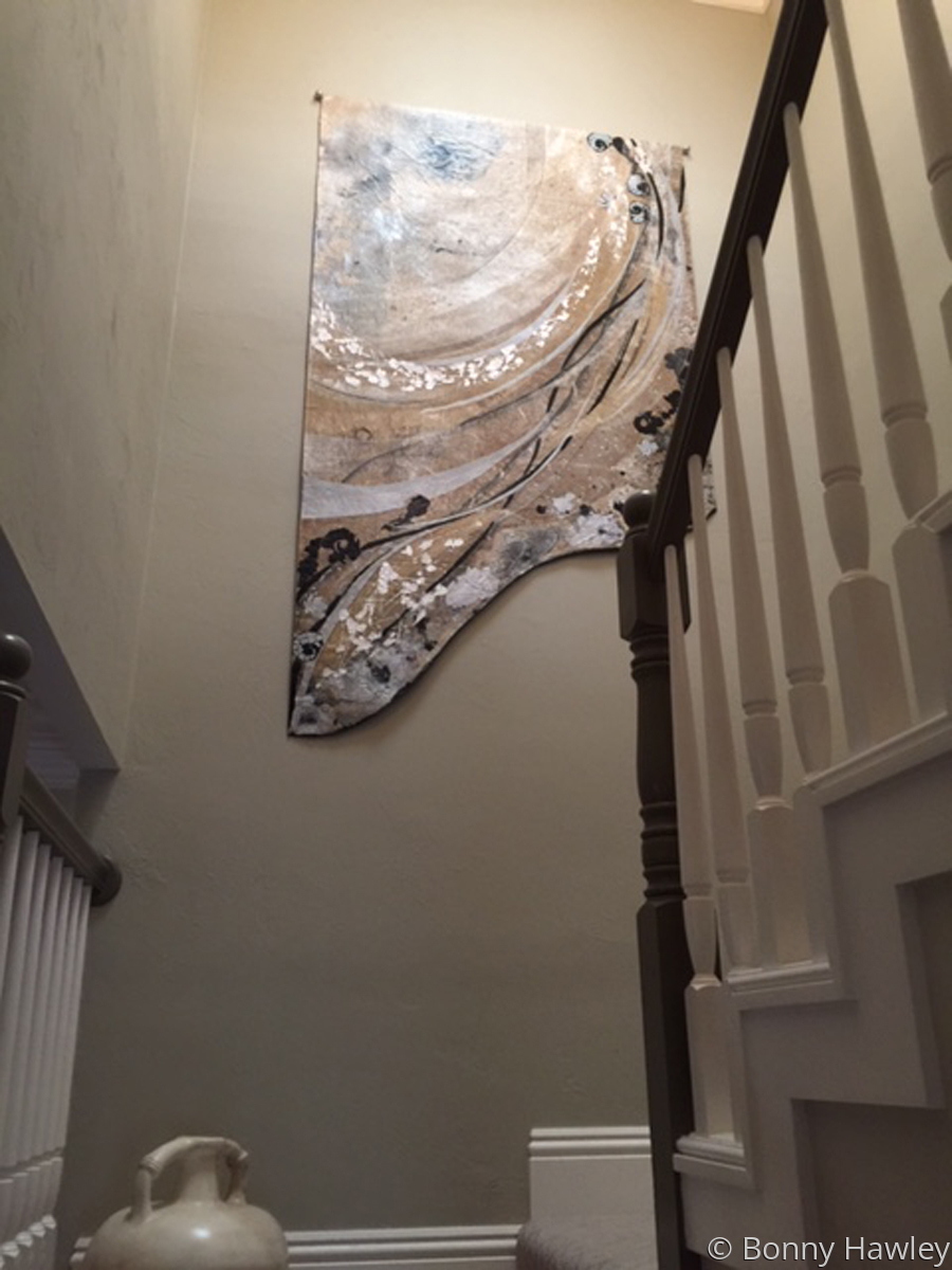 SHaped Tapestry Installation  (large view)