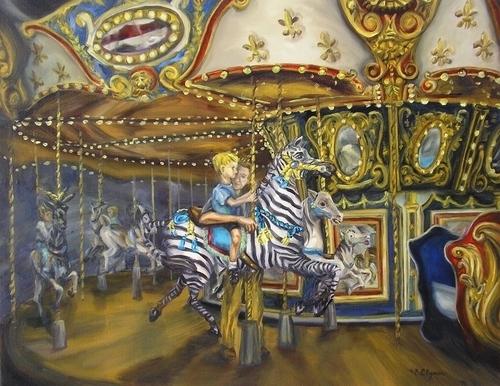 Carousel by Bonnie Clymer