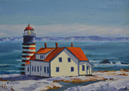 West Quoddy in Winter