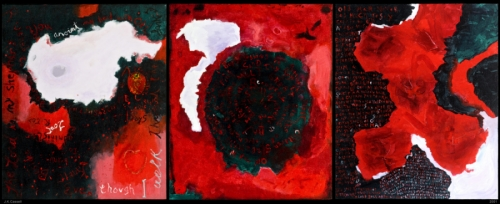 9-11 Triptych by James Cassell