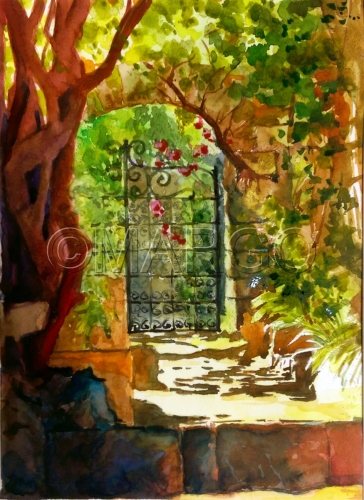 Gate by Marina Goldberg - MarGo