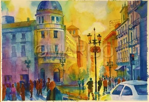 Another street impression by Marina Goldberg - MarGo