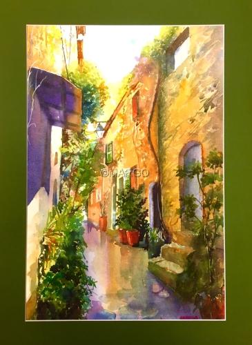 Hidden alley