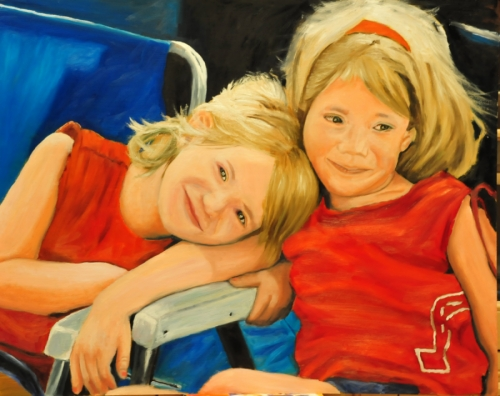 The Twins by Barry Pollara Art