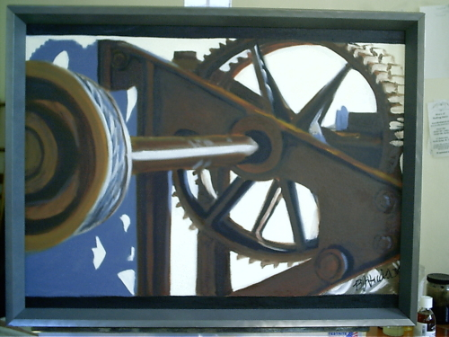 "color study for ""Gears II"""