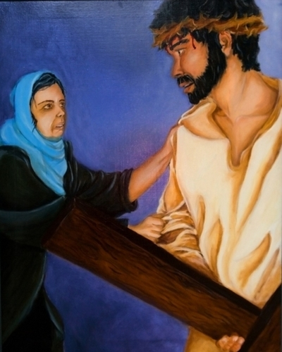 Station IV: Jesus Meets His Afflicted Mother