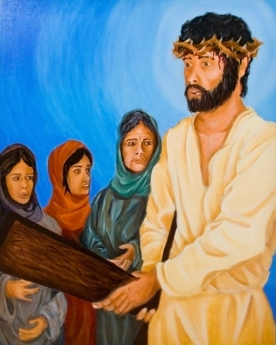 Station VIII: Jesus Meets with the Women of Jerusalem