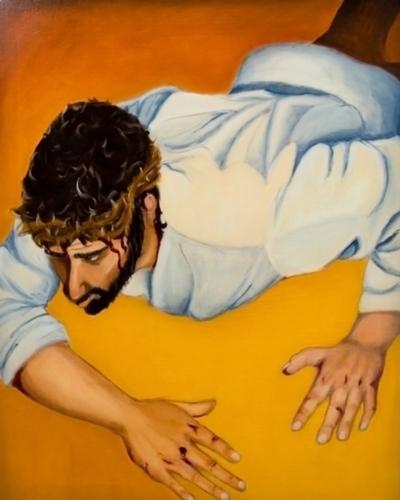 Station IX: Jesus Falls the Third Time