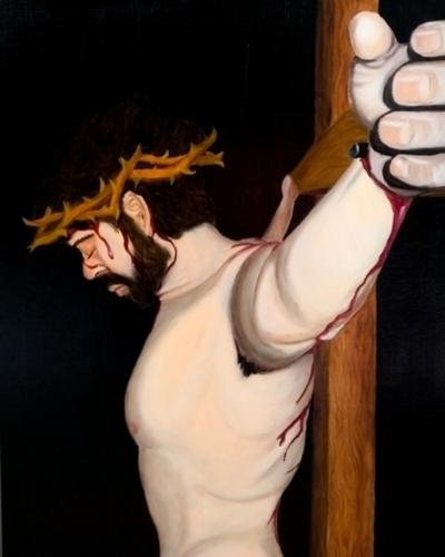 Station XII: Jesus Dies on the Cross by Brandon J. Hudson