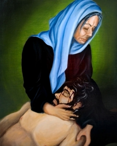 Station XIII: The Body of Jesus is Placed In the Arms of His Mother