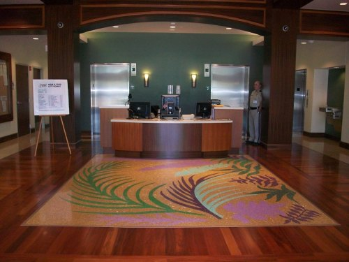 Municipal Reception Lobby-Karl Craig, Artist