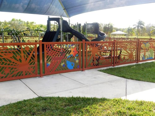 Tot Lot Fence- Marco Conde, Artist