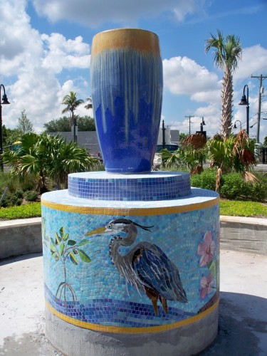 Water Fountain- Cynthia Fisher, Artist
