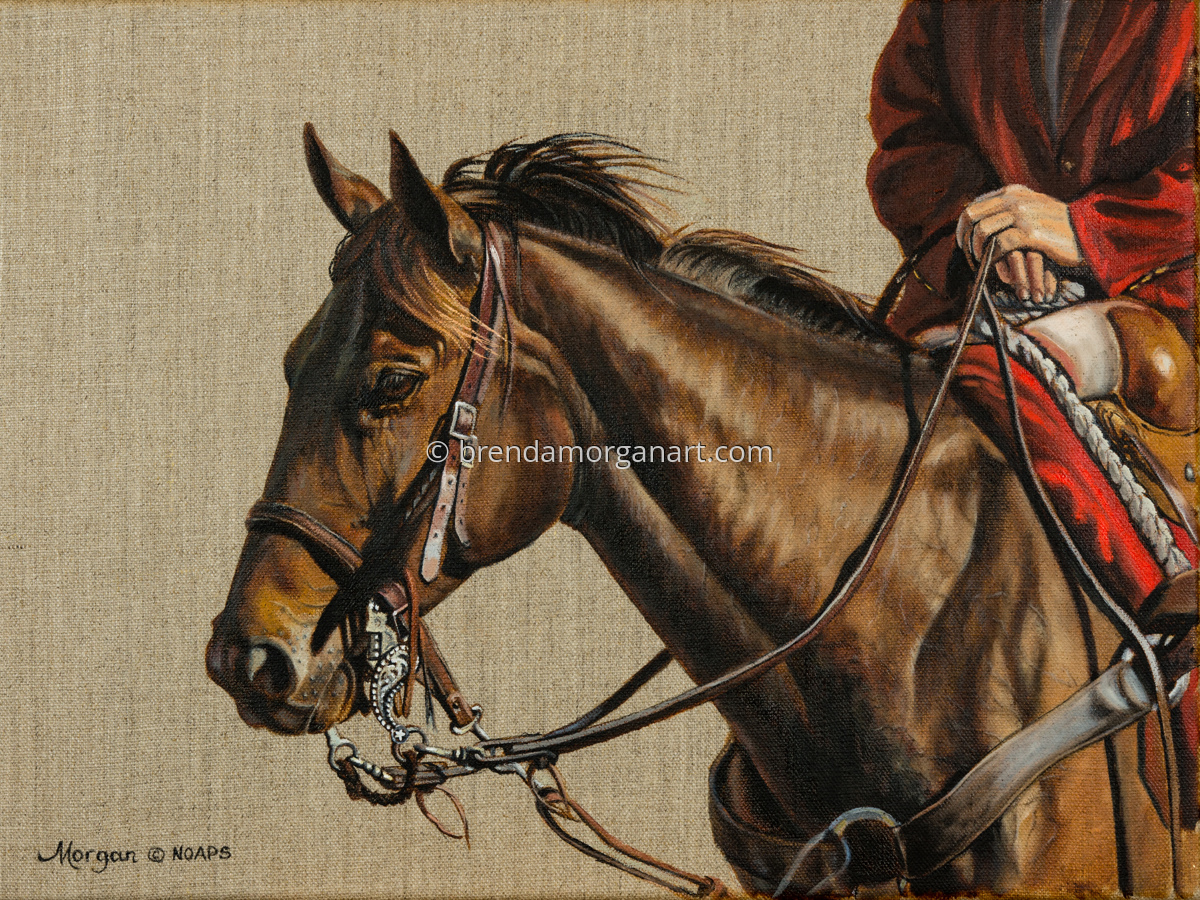 The Outrider's Horse (large view)