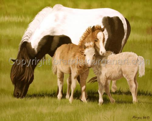 Double Trouble (Miniature Horses)