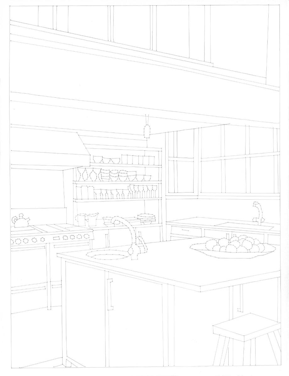 Beautiful Homes (Kitchen) (large view)