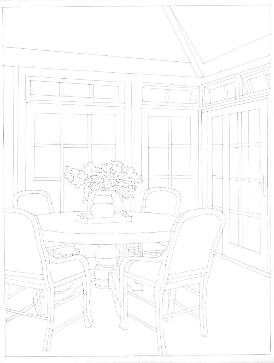 Beautiful Homes                  (Dining Room) (large view)