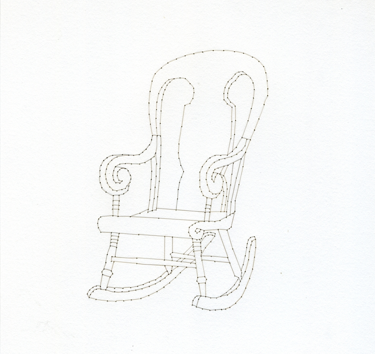 Domestic Objects (Rocking Chair) (large view)