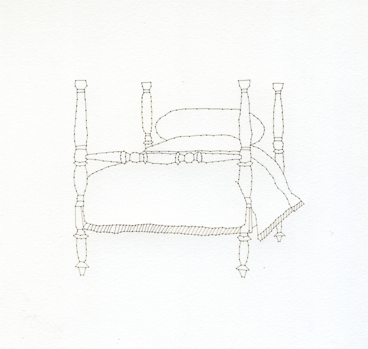 Domestic Objects (Four Poster Bed) (large view)