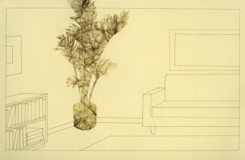 Potted Plants (Palm) by Brenna K. Murphy