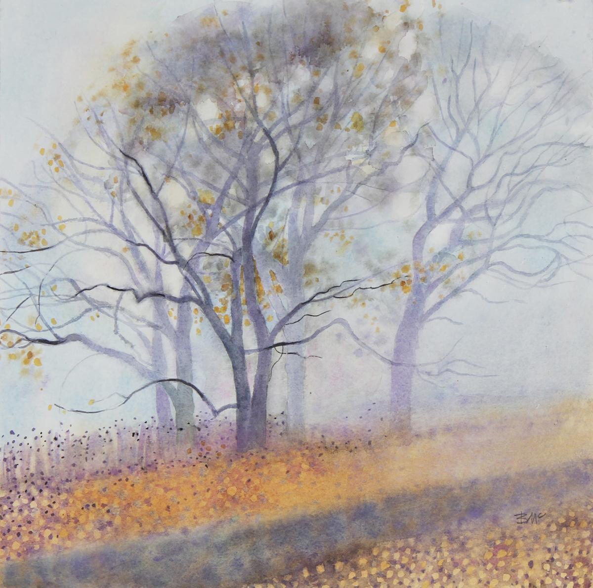 Oak Grove, Fog (large view)