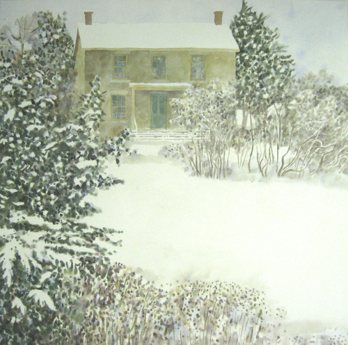 Stone House Winter by Brian McCormick