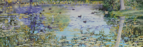 A Duck Pond by Brian McCormick