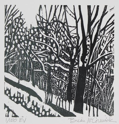 A Snowy Lane 1-8/100 EV
