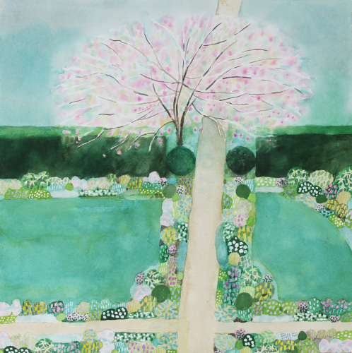 Intersection--Formal Garden