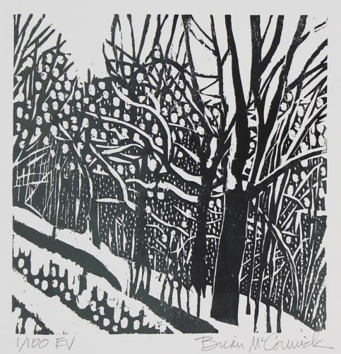 A Snowy Lane 13-18/100 EV