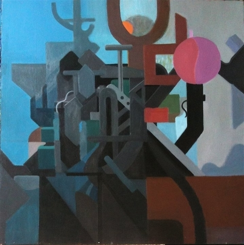 "Max Ernst""s Industrial Jungle Sans Loplop"
