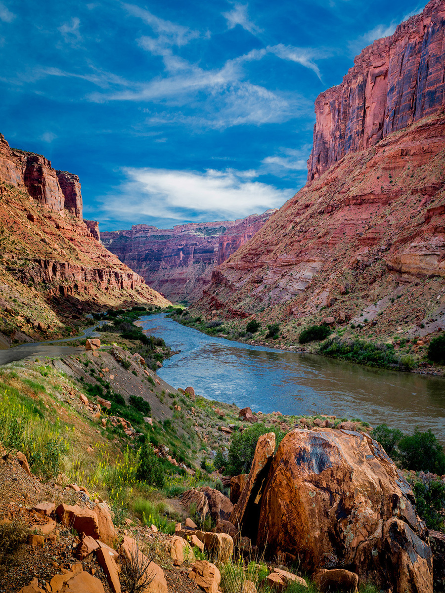 Colorado River Near Moab (large view)