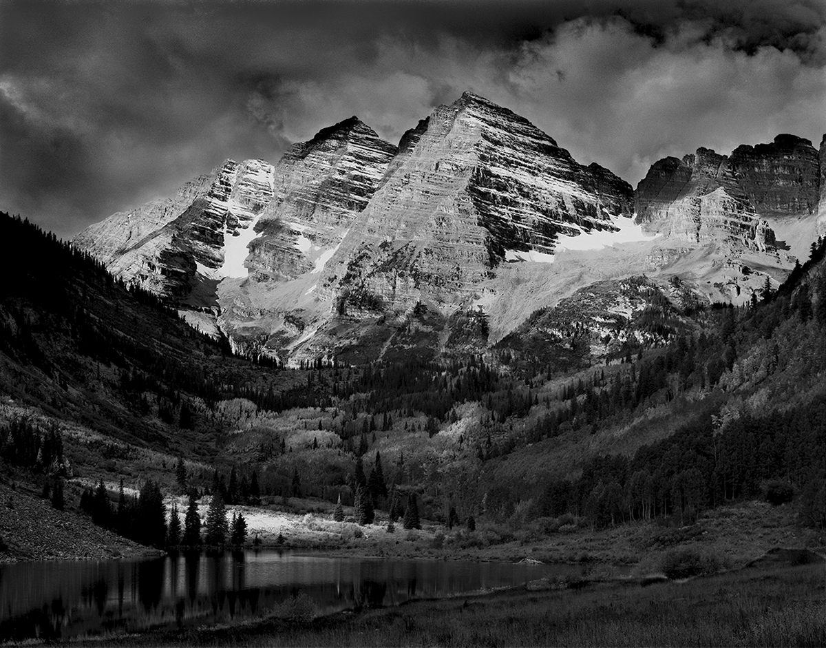 Maroon Bells (large view)