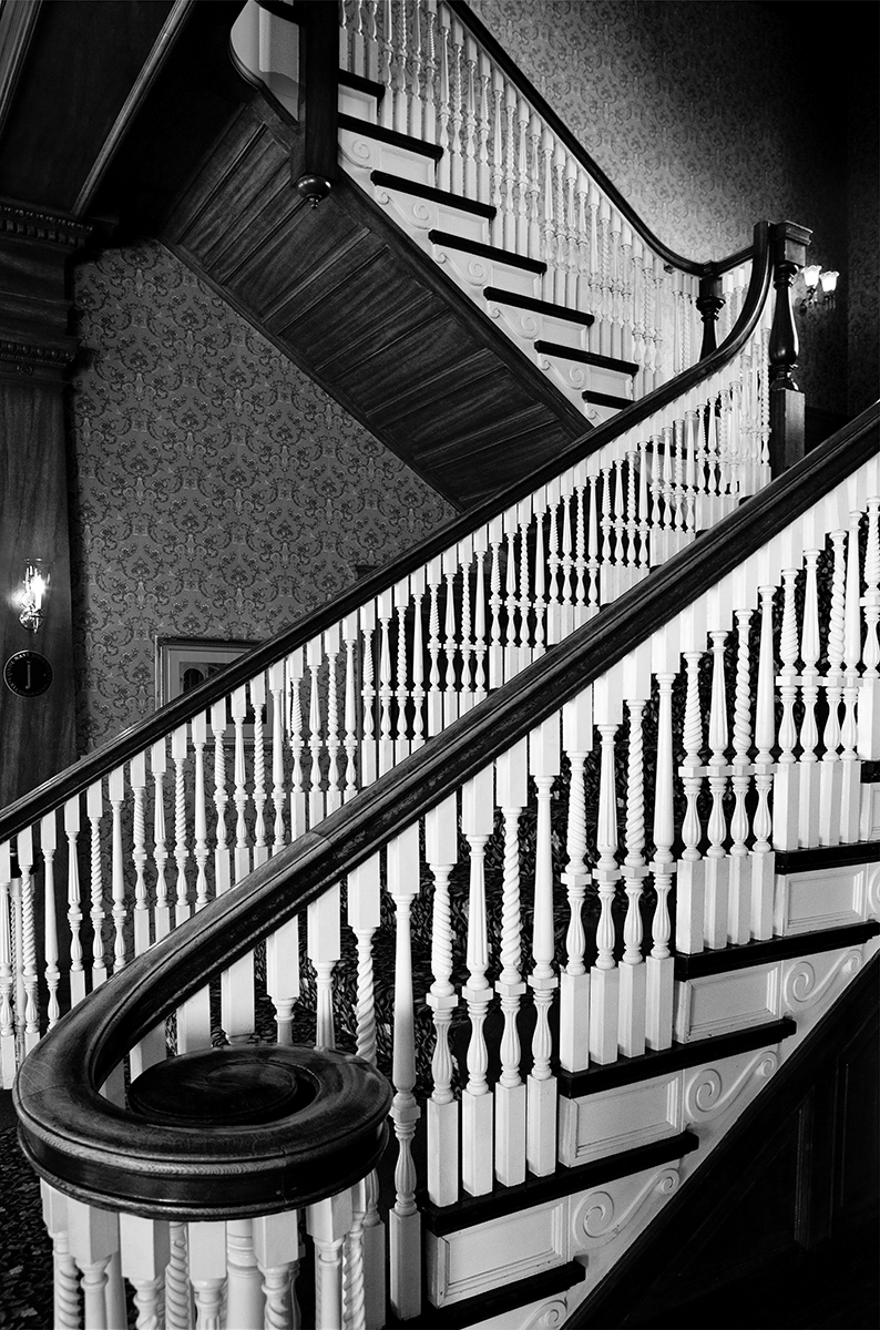 White Staircase (large view)