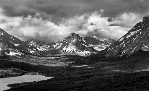 Approaching Storm, Glacier National Park