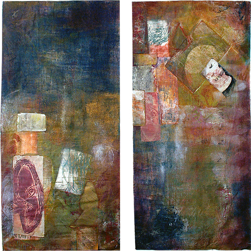 Refugee Dreams:Want-Diptych
