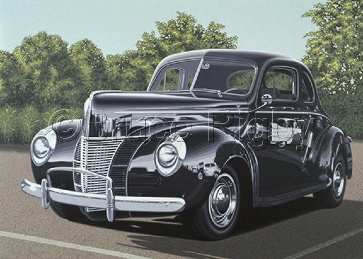Forty Ford Deluxe print (large view)