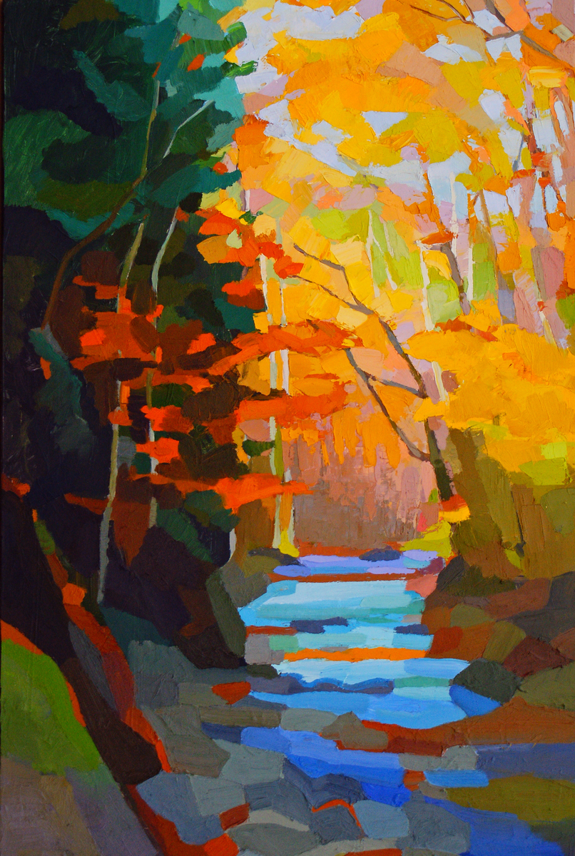 Autumn Stream (large view)