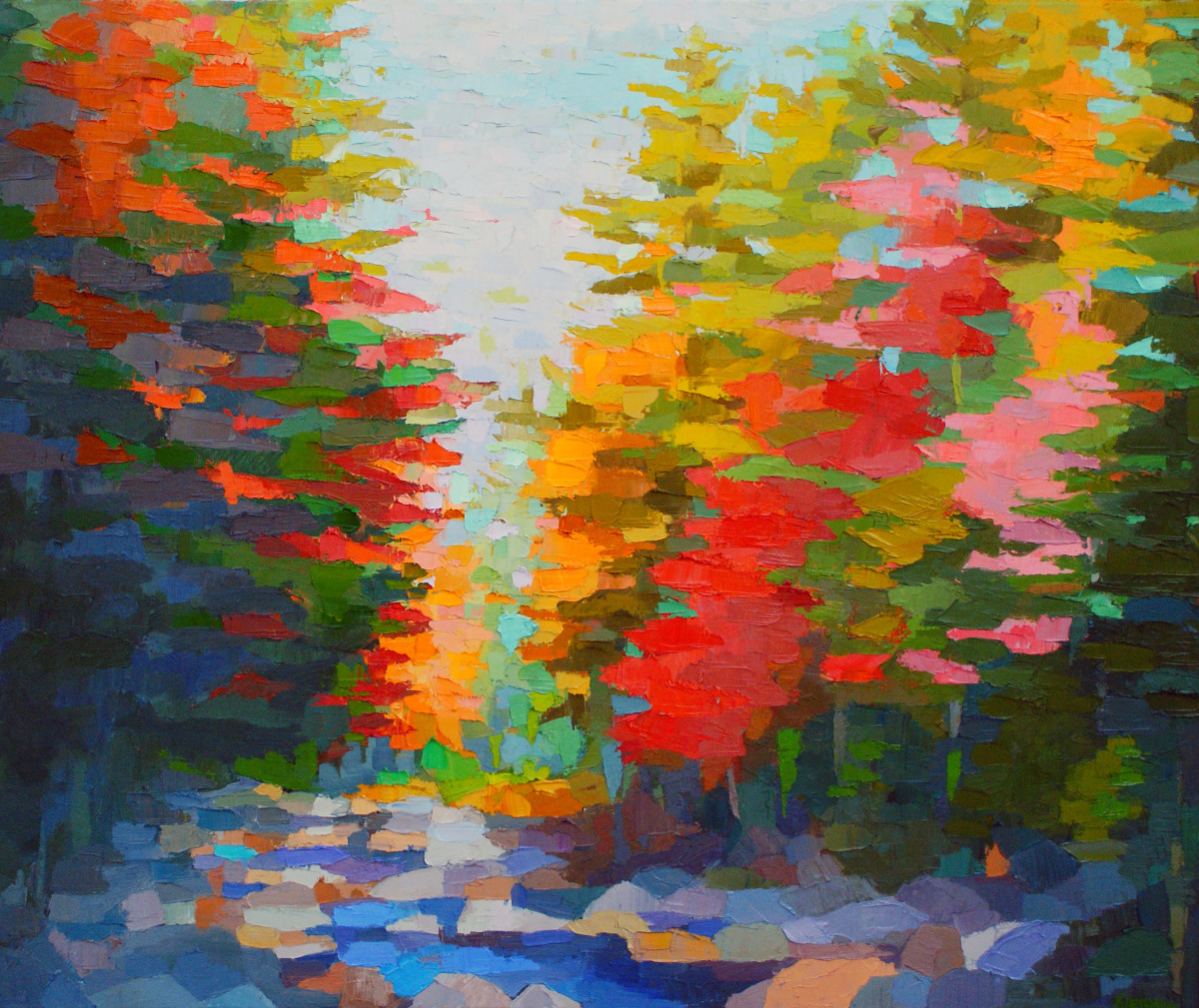 Autumn on Swift River (large view)