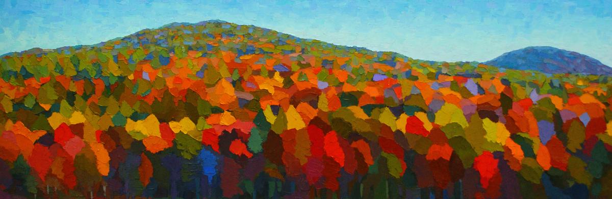Autumn Mosaic near Jackson (large view)