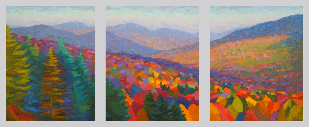 Great Gulf Valley Triptych (large view)