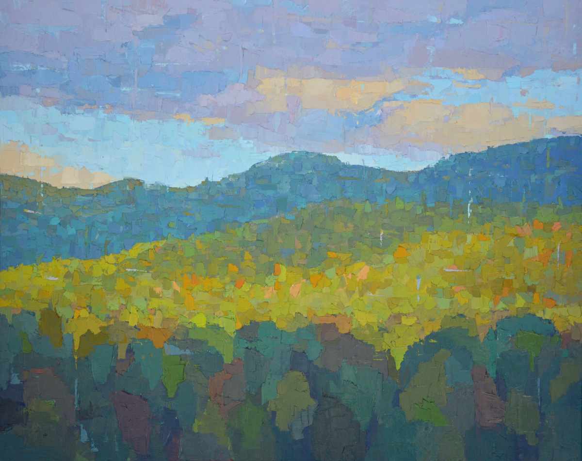 Late Afternoon, Adirondacks (large view)