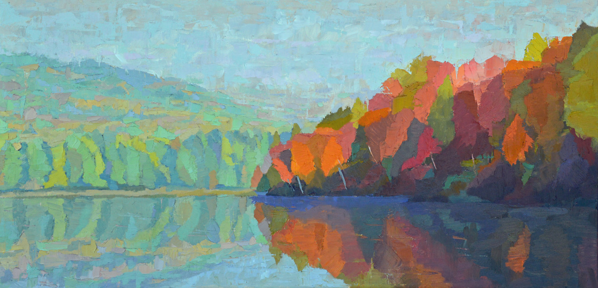 Early Fall, Androscoggin River (large view)