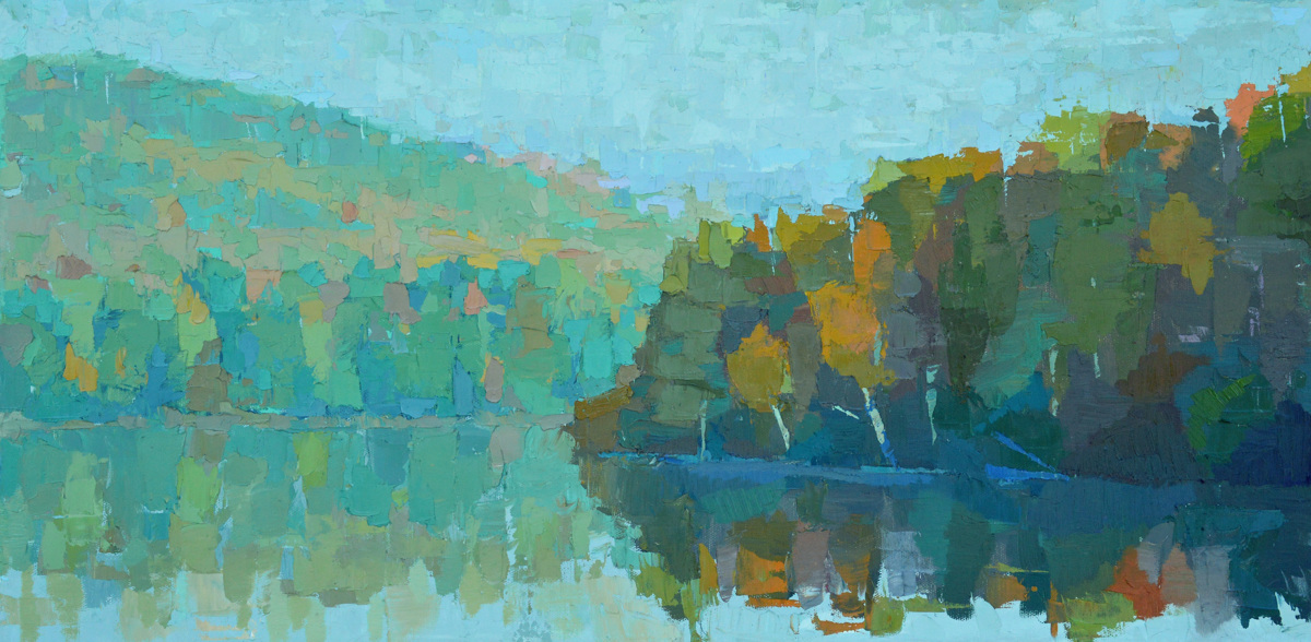 Foggy Morning, Androscoggin River (large view)