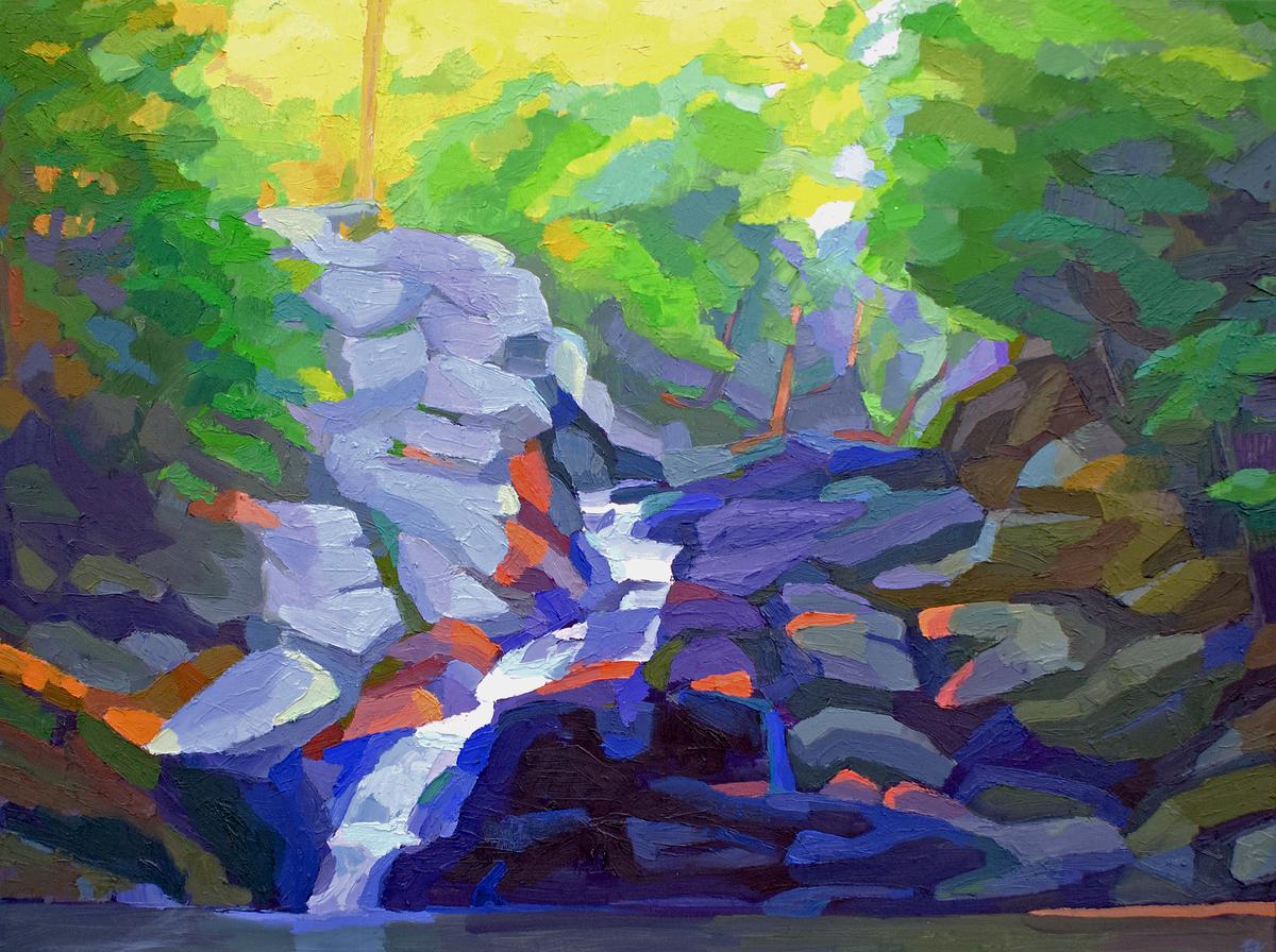 Wahconah Falls (large view)