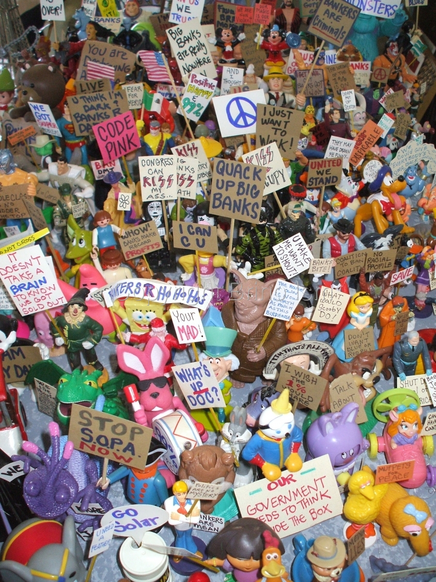 Occupy Toy Protest 3 (large view)