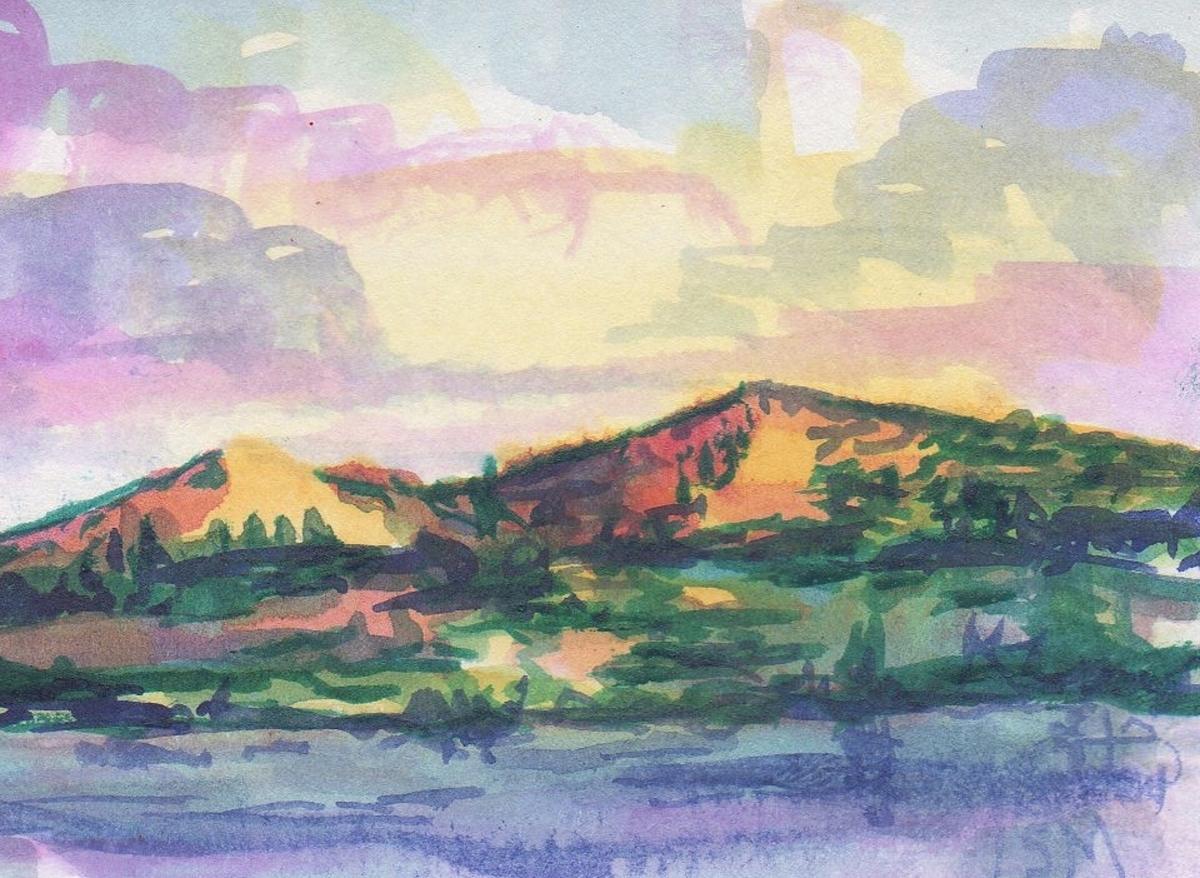 Watercolor Landscape 4 (large view)