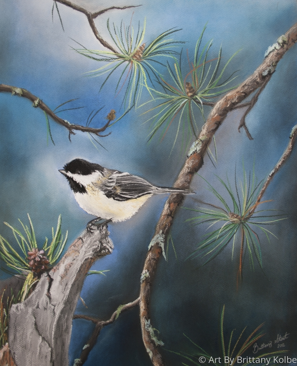 Chickadee Perch (large view)