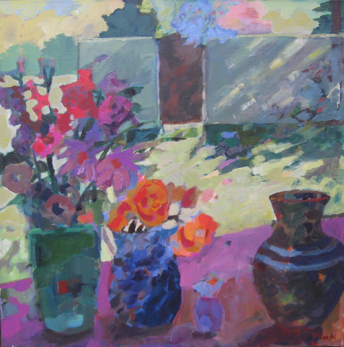 Bouquets in Walled Garden (large view)